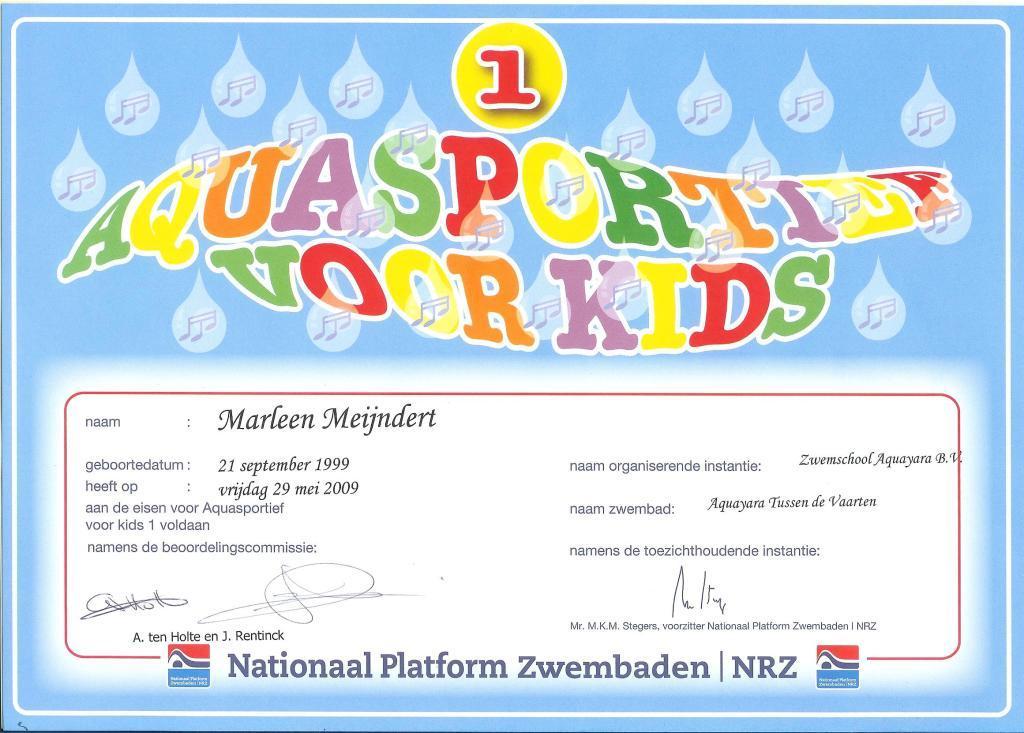 diploma voor kinderen